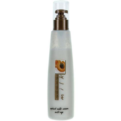 Молочная антивозрастная маска для волос на основе абрикосового масла Cream AntiAge, 200 мл (Kleral System, Milk) масла derbe масло моющее с алое olioderbe для секущихся и тонких волос