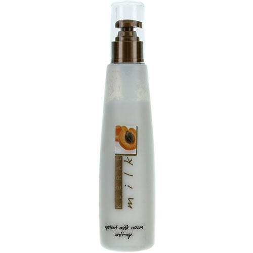 Молочная антивозрастная маска для волос на основе абрикосового масла Cream AntiAge, 200 мл (Kleral System, Milk) цена