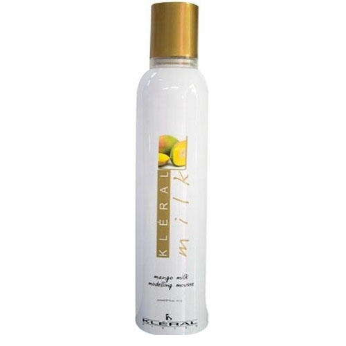 Пена для волос сильной фиксации с манго Modelling Mousse, 300 мл (Kleral System, Milk)