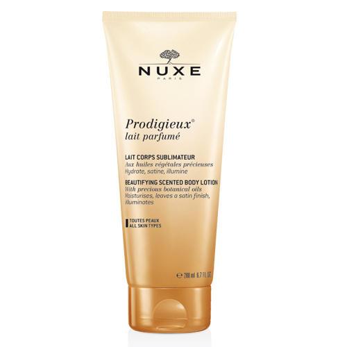 Продижьез Парфюмированное Молочко для тела 200 мл (Prodigieuse) (Nuxe)