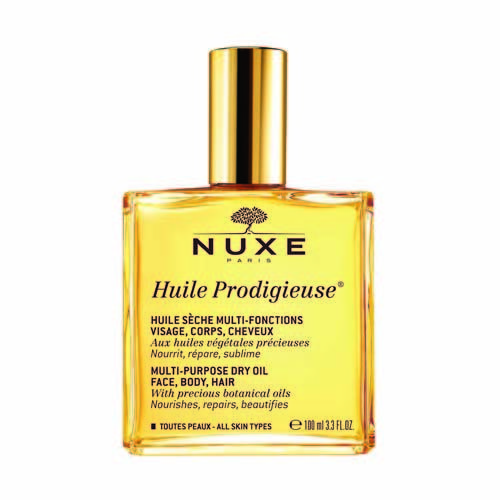 Nuxe Продижьез Сухое масло для лица, тела и волос Новая формула, 100 мл (Prodigieuse)