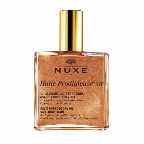 Nuxe Продижьез Золотое масло для лица, тела и волос Новая формула, 100 мл (Prodigieuse)