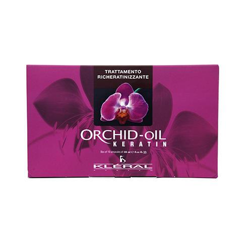 Ампулы с маслом орхидеи для укрепления волос, 1010 мл (Kleral System, Orchid Oil)