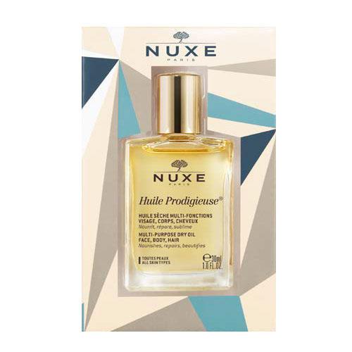 Продижьёз Сухое масло для лица, тела и волос в подарочной упаковке 30 мл (Nuxe, Prodigieuse) nuxe масло сухое золотое