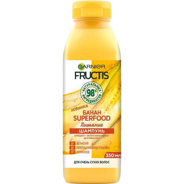 Купить Garnier Шампунь для питания волос SuperFood Банан, 350 мл (Garnier, Fructis), Франция