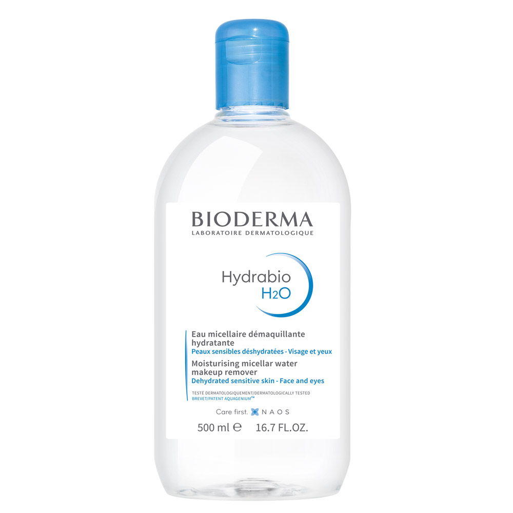 Купить Bioderma Увлажняющая мицеллярная вода H2O, 500 мл (Bioderma, Hydrabio), Франция