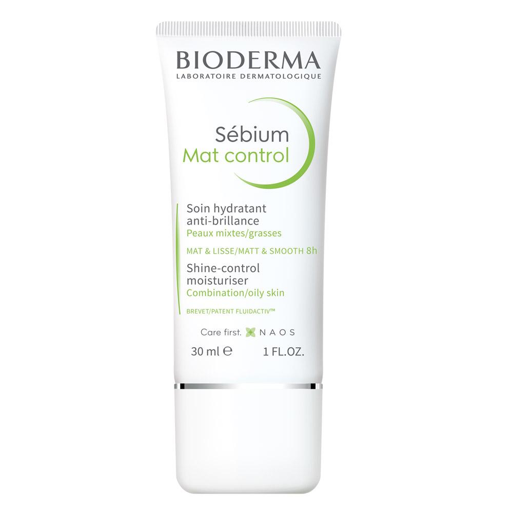 Купить Bioderma Матирующий крем для жирной кожи Mat Control, 30мл (Bioderma, Sebium), Франция