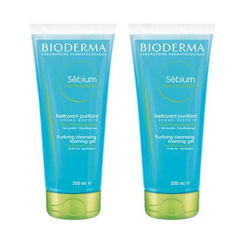 Набор Себиум Очищающий гель мусс без помпы 200 мл х 2 шт (Sebium) от Pharmacosmetica