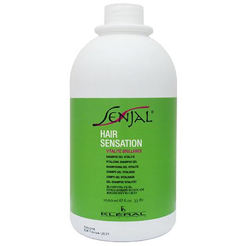 Шампуньгель восстанавливающий для нормальных волос Shampoo Gel Vitalita, 1000 мл (Kleral System, Senjal) детский шампуньгель для волос и тела лайм 150 мл weleda шампуньгель