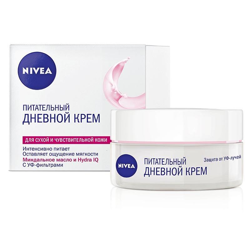 NIVEA Крем Дневной увлажняющий для сухой и чувствительной кожи 50 мл (NIVEA, Уход за лицом)