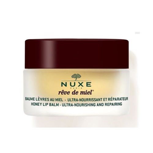 Nuxe Ультрапитательный восстанавливающий бальзам для губ с медом Reve De Miel 15 гр (Nuxe, Reve De Miel) bc beauty care бальзам для губ восстанавливающий
