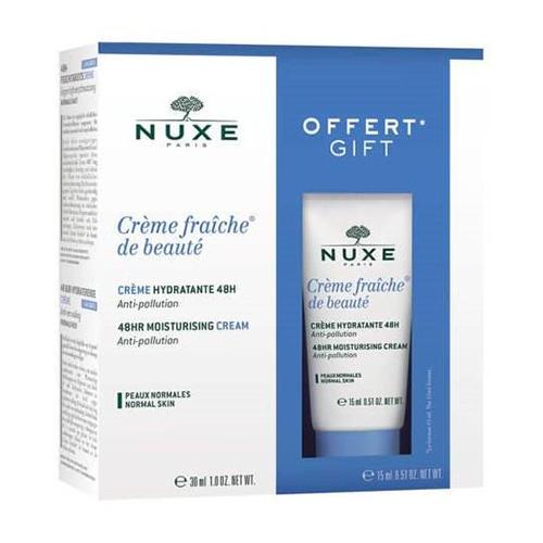 Nuxe Набор для нормальной кожи лица (крем 30 мл + крем 15 мл) (Nuxe, Creme fraiche de beaute) bio beaute by nuxe