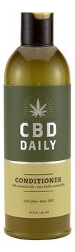 CBD DAILY Лечебный кондиционер с коноплей для волос и кожи головы Daily Conditioner, 473 мл (CBD DAILY, Уход за волосами)