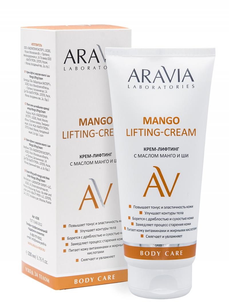 Купить Aravia Laboratories Крем-лифтинг с маслом манго и ши Mango Lifting-Cream, 200 мл (Aravia Laboratories, Уход за телом)