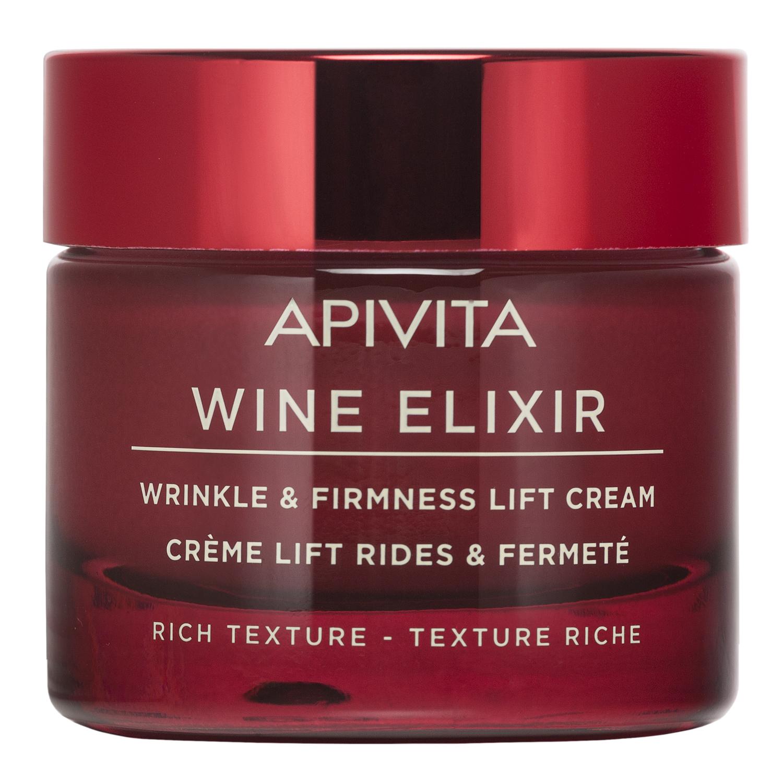 Apivita Крем-лифтинг с насыщенной текстурой, банка, 50 мл (Apivita, Wine Elixir)