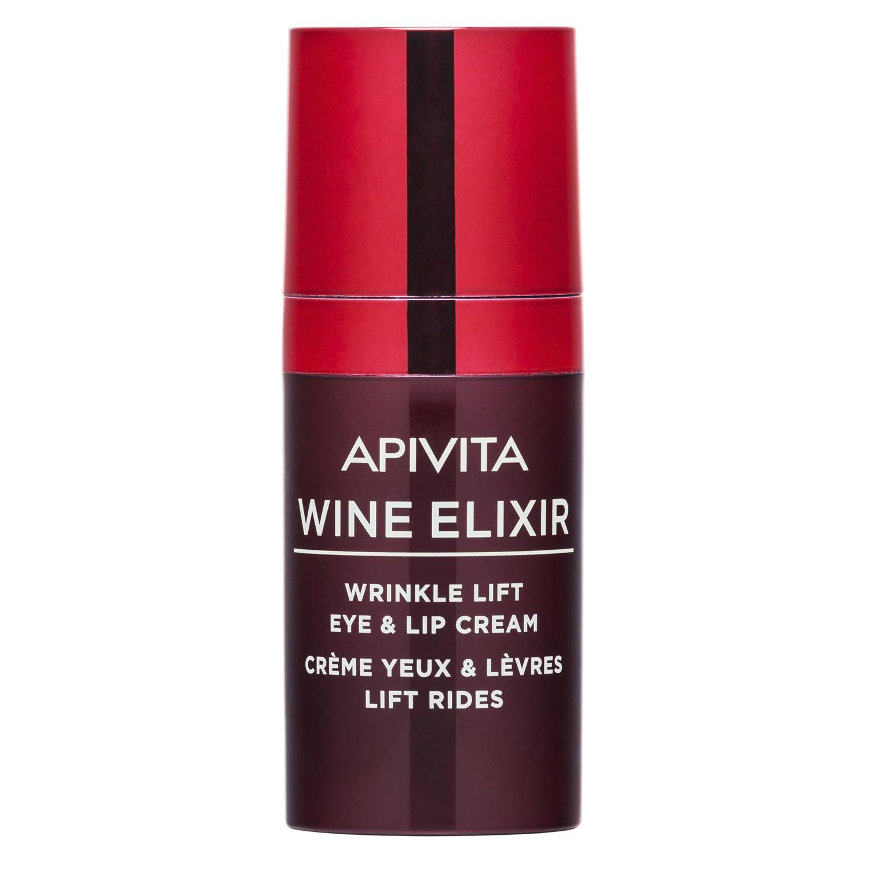 Купить Apivita Крем-лифтинг для кожи вокруг глаз и губ, 15 мл (Apivita, Wine Elixir), Греция