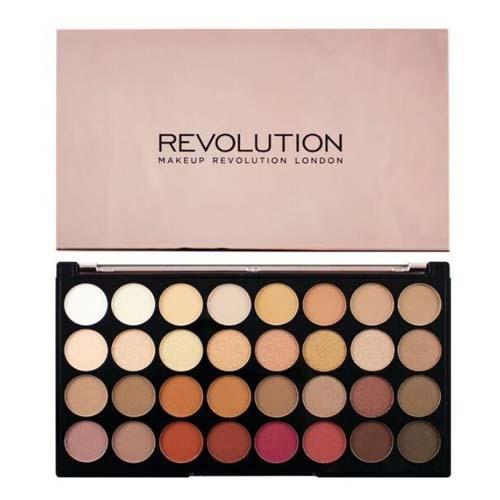 Палетка теней 32 оттенка Ultra 32 Shade Eyeshadow Palette, 20 г (Makeup Revolution, Глаза) губная помада makeup revolution i heart makeup lip geek