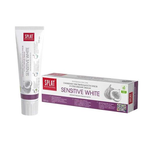 Зубная паста Сенситив отбеливание 100 мл (Splat, Professional) зубная паста splat professional сенситив 100 мл