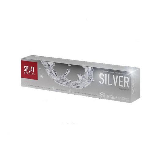 Зубная паста Серебро 75 мл (Splat, Splat) splat