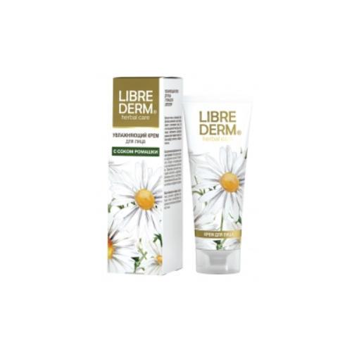 Librederm Увлажняющий крем для лица с ромашкой 75 мл (Herbal Care)