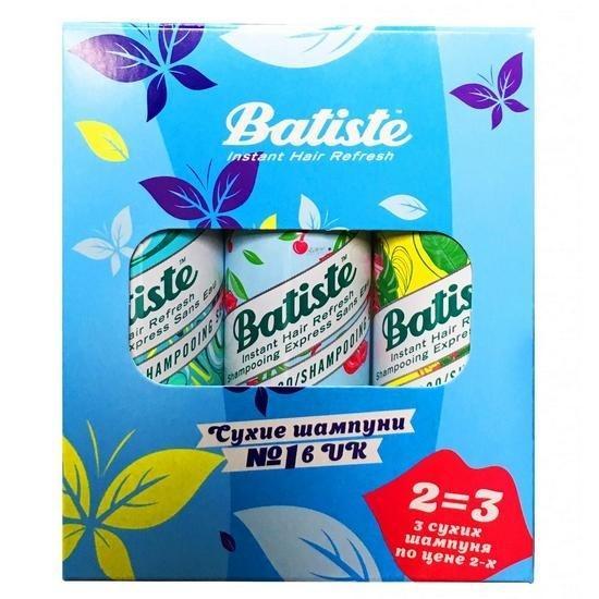 Batiste Cherry 50 мл Tropical 50 мл Original 50 мл (Batiste, Fragrance) шампунь batiste original 200мл сухой аэрозоль
