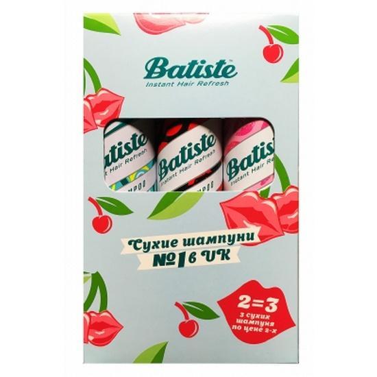 Набор Batiste Original 200млNaughty 200млNice 200 мл (Batiste, Fragrance) batiste shampoo original
