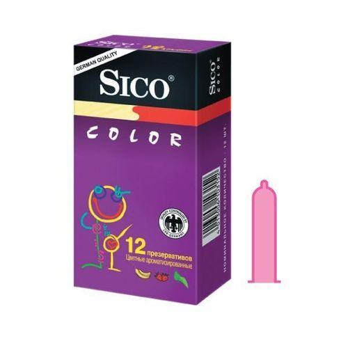 Презервативы  №12 color (Sico презервативы)
