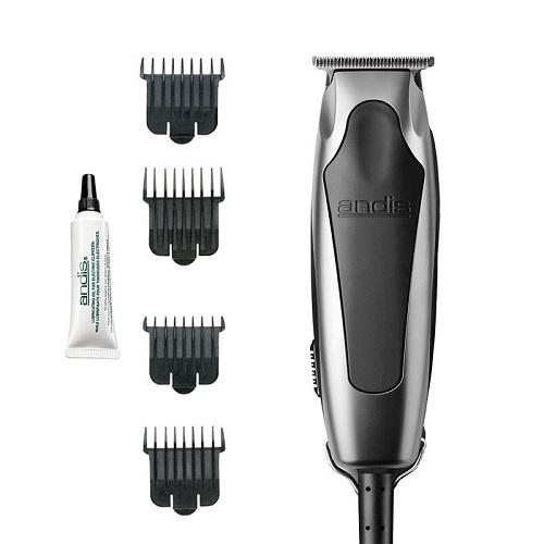 Купить Andis Триммер для стрижки волос 0, 1 мм, сетевой, ротор, 12 Вт, 4 насадки (Andis, Машинки), США