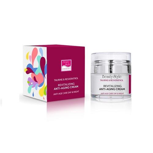 Купить Beauty Style Крем возрождающий Anti Age plus 24 часа 30 мл (Beauty Style, Taurine & Resveratrol), США
