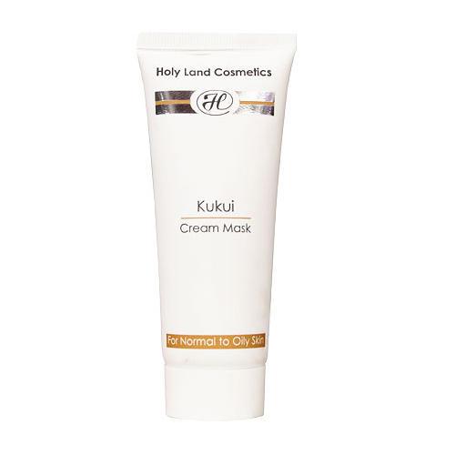 Сокращающая маска Cream Mask For Oily Skin 70 мл (Holyland Laboratories, Kukui) крем для молодой нормальной или жирной кожи cream 70 мл holyland laboratories youthful