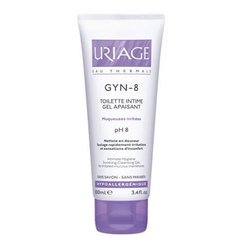 Uriage Средство интимной гигиены Жин-8, 100 мл (Uriage, Интимная гигиена) uriage средство для снятия водостойкого макияжа с глаз 100 мл uriage гигиена uriage