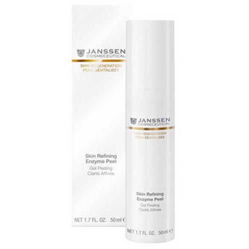 Энзимный пилинг гель 50 мл (Janssen, Skin regeneration) janssen обновляющий энзимный гель mature skin