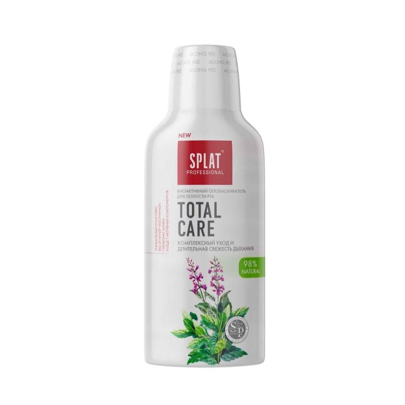 Splat Ополаскиватель для полости рта Mouthwash Total care, 275мл (Splat, Ополаскиватели и пенки)