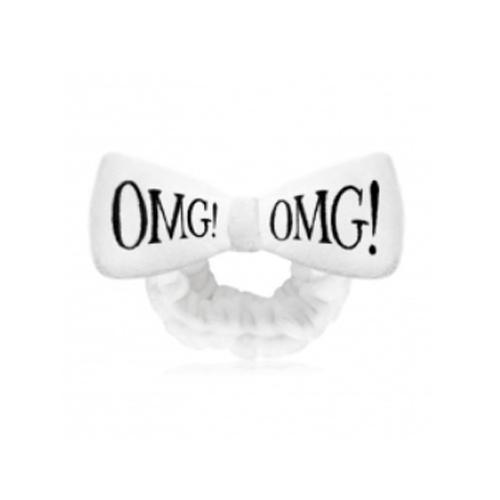 Hair BandWhite Повязка косметическая для волос белая 1 шт. (Double Dare OMG, Double Dare) double dare omg маска четырехкомпонентная для ухода за кожей лица 4in1 kit zone system mask