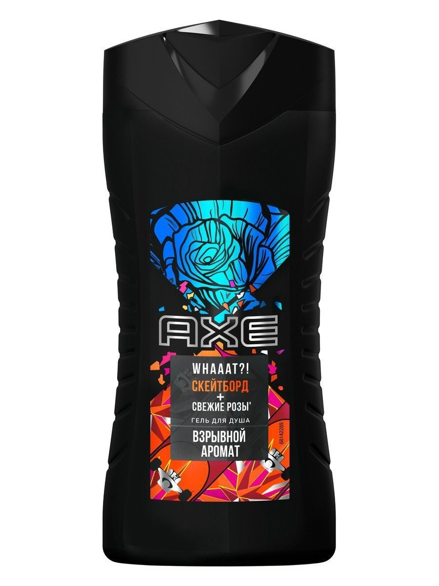 AXE Гель для душа мужской Скейтборд и Розы 250 мл (AXE, Гели для душа)