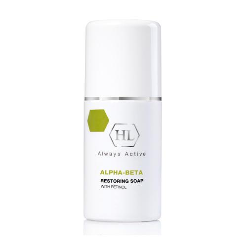 цена на Holyland Laboratories Restoring Soap Восстанавливающее мыло с ретинолом 125 мл (Holyland Laboratories, Alpha-Beta & Retinol)