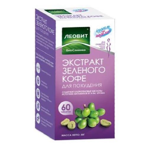 Экстракт зеленого кофе для похудения. Упаковка 60 таблеток (Худеем за неделю, БиоСлимика) экстракт зеленого кофе для похудения упаковка 60 таблеток худеем за неделю биослимика