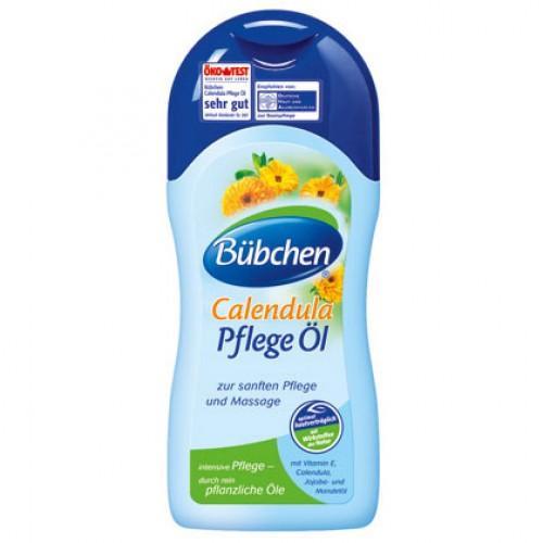 Масло для кожи с календулой 200 мл (Bubchen, Серия БиоКалендула) масло с календулой для младенцев с нежным ароматом 200 мл