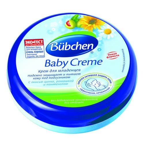 Крем для младенцев 150мл (Bubchen, Для тела) bubchen средство для купания младенцев baby bad с экстрактом ромашки 400 мл