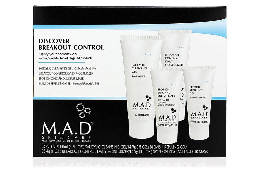 Купить M.A.D. Дорожный набор препаратов для жирной, комбинированной и кожи с акне Acne Discovery Kit (M.A.D., Acne)