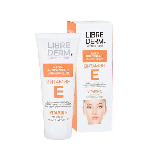 Витамин Е маскаантиоксидант увлажняющая 75 мл (Librederm, Витамин Е) либридерм витамин е д глаз