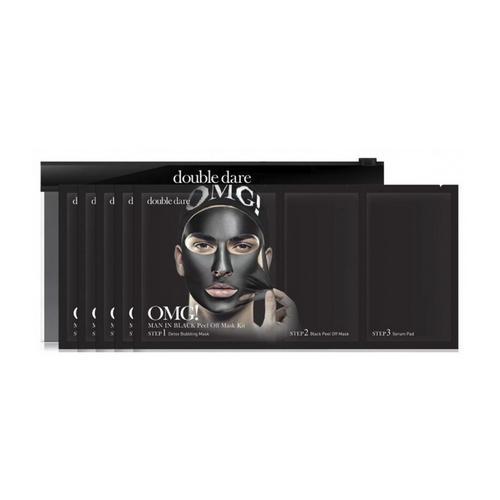 Купить Double Dare OMG Трехкомпонентный комплекс мужских масок «СМЯГЧЕНИЕ и ВОССТАНОВЛЕНИЕ», упаковка 5 штук (Double Dare OMG, OMG!), США