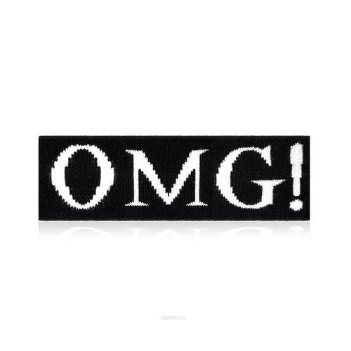 Мужская повязка для фиксации волос во время косметических процедур (Double Dare OMG, OMG) повязки косметическая для волос цвета металлик double dare omg platinum hair band