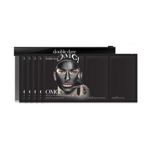 Купить Double Dare OMG Трехкомпонентный комплекс мужских масок «СМЯГЧЕНИЕ и ВОССТАНОВЛЕНИЕ» 1 шт (Double Dare OMG, OMG!), США