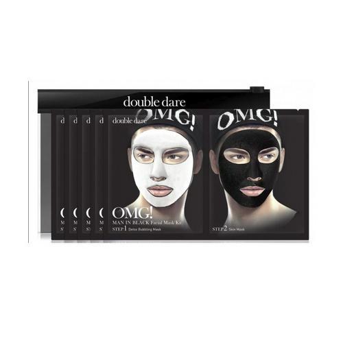 Купить Double Dare OMG Двухкомпонентный комплекс мужских масок «ДЕТОКС» 1 шт (Double Dare OMG, OMG!), США