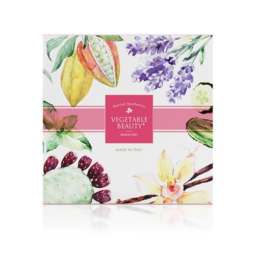 Подарочный набор натурального мыла 1 (Vegetable beauty, Vegetable beauty) мыло натуральное кастильское лаванда и шелк 100г