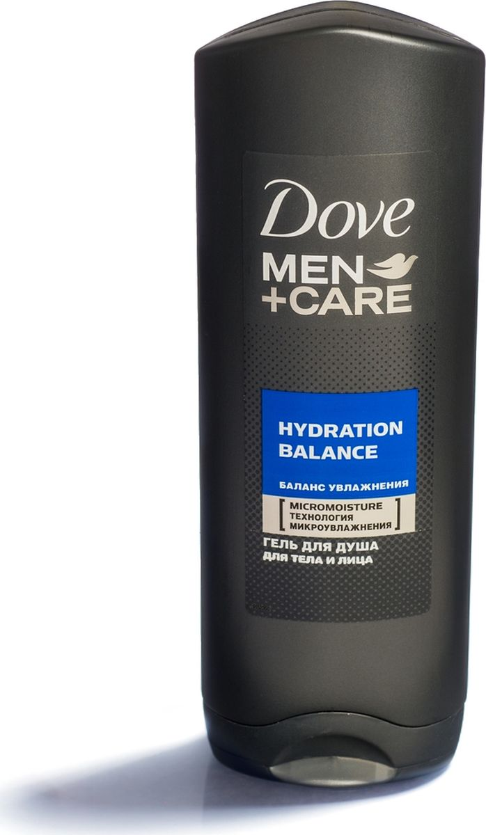 DOVE Гель для душа Баланс увлажнения 250 мл (DOVE, Dove Men+Care)