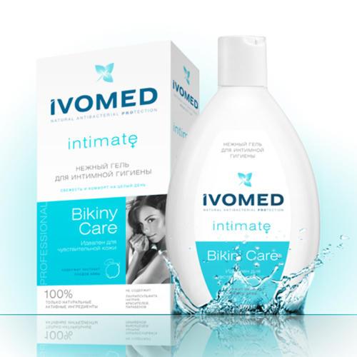 Ivomed Нежный гель для интимной гигиены с экстрактом Айвы 250 мл (Bikini Care)