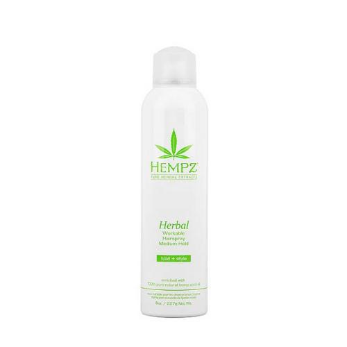 Купить Hempz Лак растительный для волос средней фиксации 227гр (Hempz, Здоровые волосы), США
