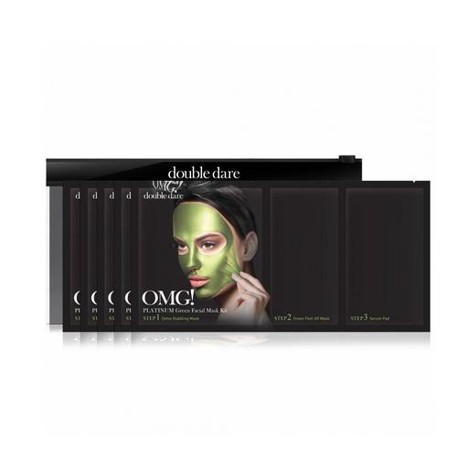 Купить Double Dare OMG Трехкомпонентный комплекс масок «УВЛАЖНЕНИЕ И СЕБОКОНТРОЛЬ», упаковка 5 штук (Double Dare OMG, OMG!), США